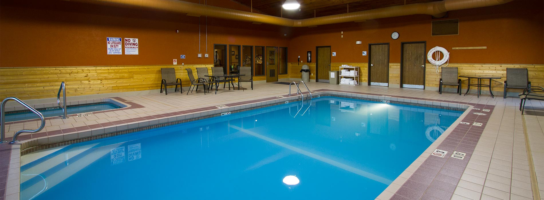 Swimming Pool at the Miles City Hotel & Suites, Miles City, Montana