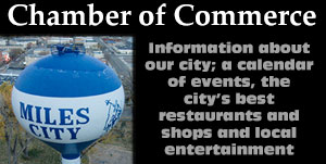 Miles City Chamber of Commerce, Miles City, Montana